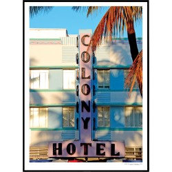 Colony Hotel Poster