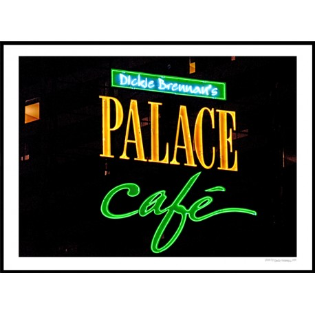 Palace Cafe Poster