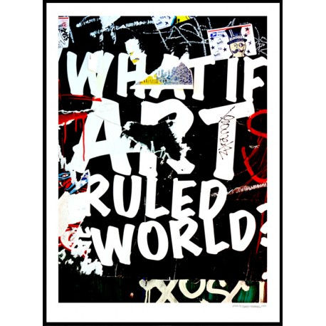 Art Rules Poster