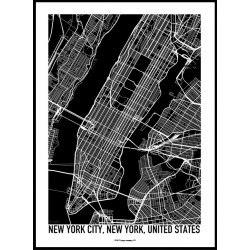 New York USA Map