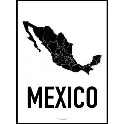 Mexico Karta