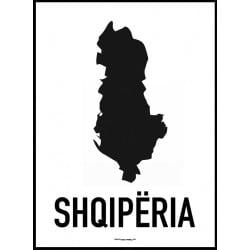 Albanien Karta