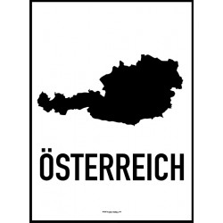 Österrike Karta