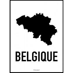 Belgien Karta