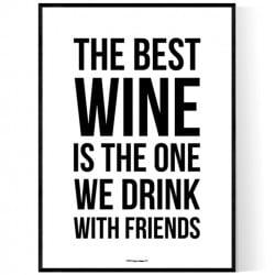Best Wine Poster