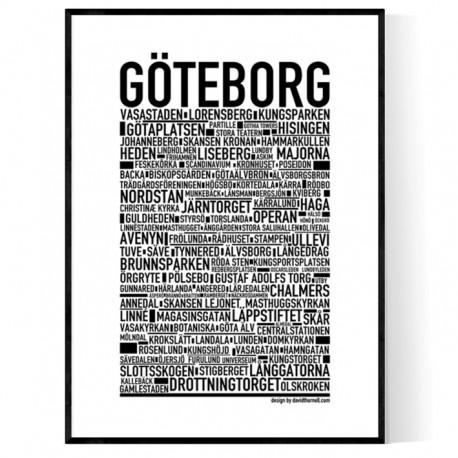 Göteborg Poster