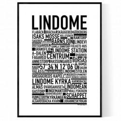 Lindome Poster