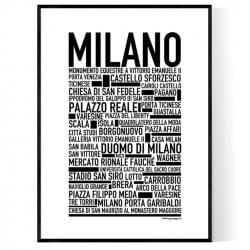 Milano Poster