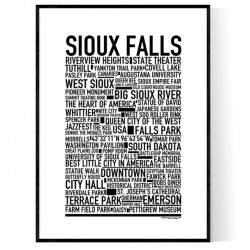 Sioux Falls Poster
