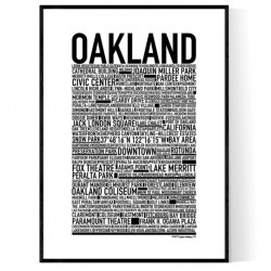 Oakland Poster
