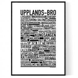Upplands-Bro Poster