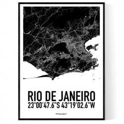 Rio de Janeiro Karta
