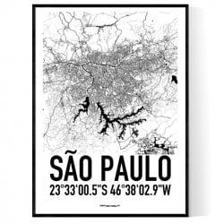 São Paulo Karta