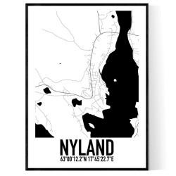 Nyland Karta