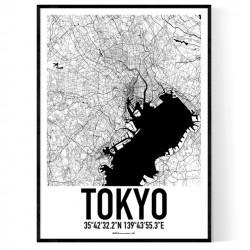 Tokyo Karta Poster
