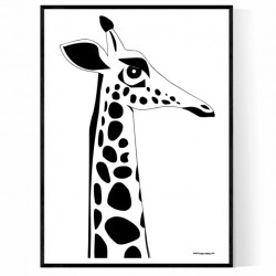 The Giraffe Poster
