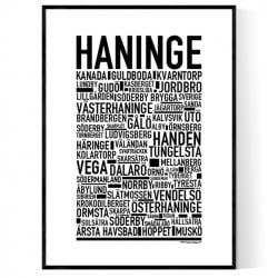 Haninge Poster