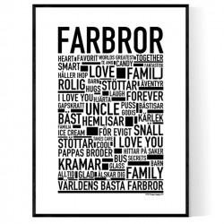 Farbror Poster