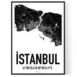 Istanbul Karta Poster