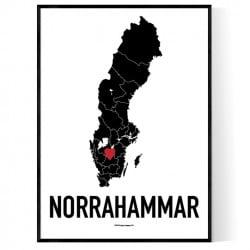 Norrhammar Karta