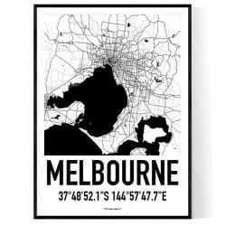 Melbourne Karta