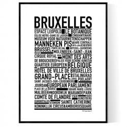 Bryssel Poster