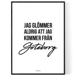 Från Göteborg Poster
