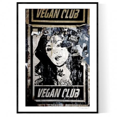 Vegan Club Poster