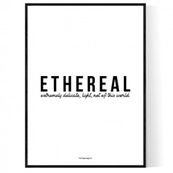 Ethereal Poster