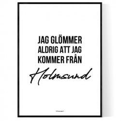 Från Holmsund
