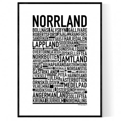 Norrland Poster