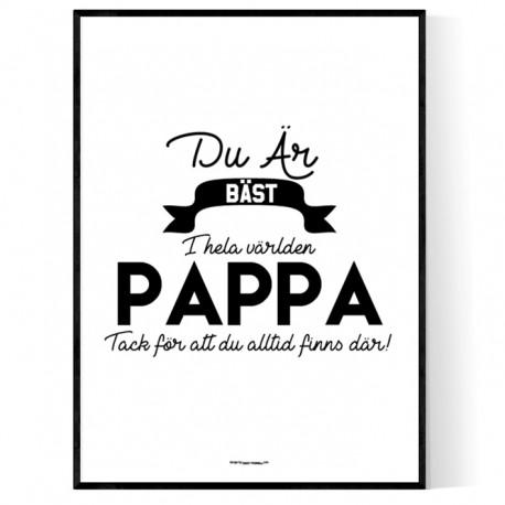 Pappa Affisch
