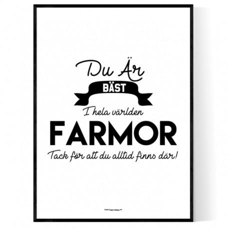 Farmor Affisch