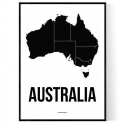 Australien Karta 2