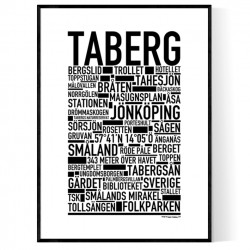 Taberg Poster