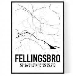 Fellingsbro Karta