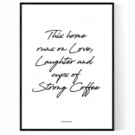 Runs On Love Poster