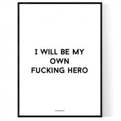 Fucking Hero Poster