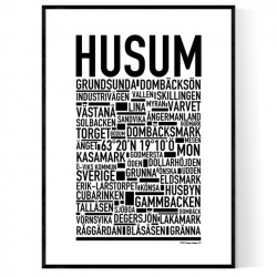 Husum Poster