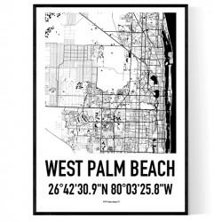 W Palm Beach Karta