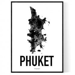 Phuket Karta Poster