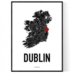 Dublin Heart Poster