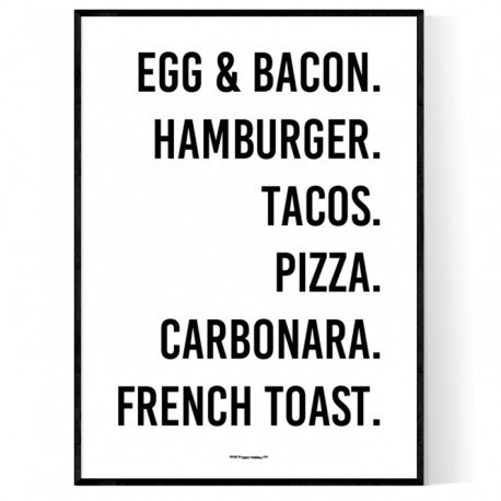 Food Choice Poster