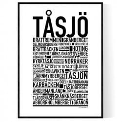 Tåsjö Poster