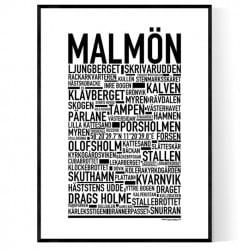 Malmön Poster