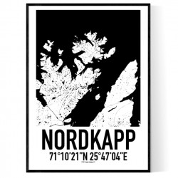 Nordkapp Karta