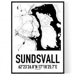 Sundsvall Karta 2