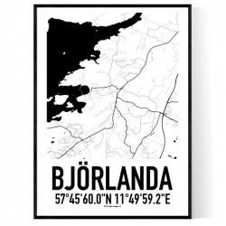 Björlanda Karta