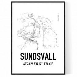 Sundsvall Karta 3