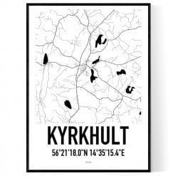 Kyrkhult Karta Poster